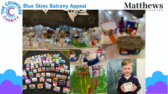 Festive Houses Project Sponsorship – Over £3,000 raised for the Countess Charity 'Blue Sky Balcony Appeal'